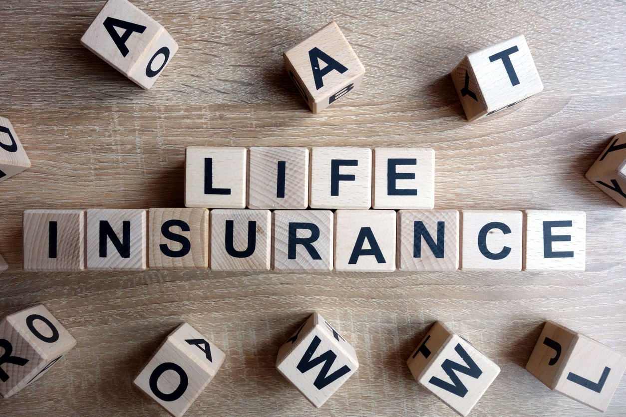 Cornerstone Insurance Services in Erie, PA advertising life insurance.