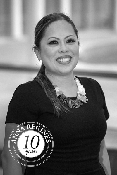Anna Regines, InConcert Financial Gorup Accounting Consultant