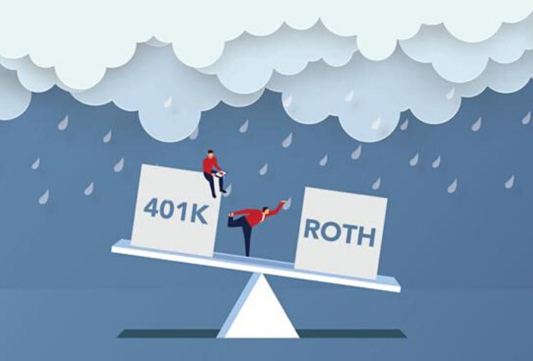 Traditional IRA vs. Roth IRA (401k vs. Roth 401k) - March 2021 Thumbnail