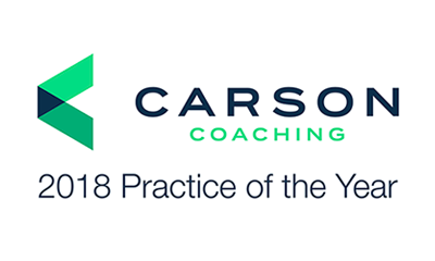 Carson Coaching 2018 Practice of the Year