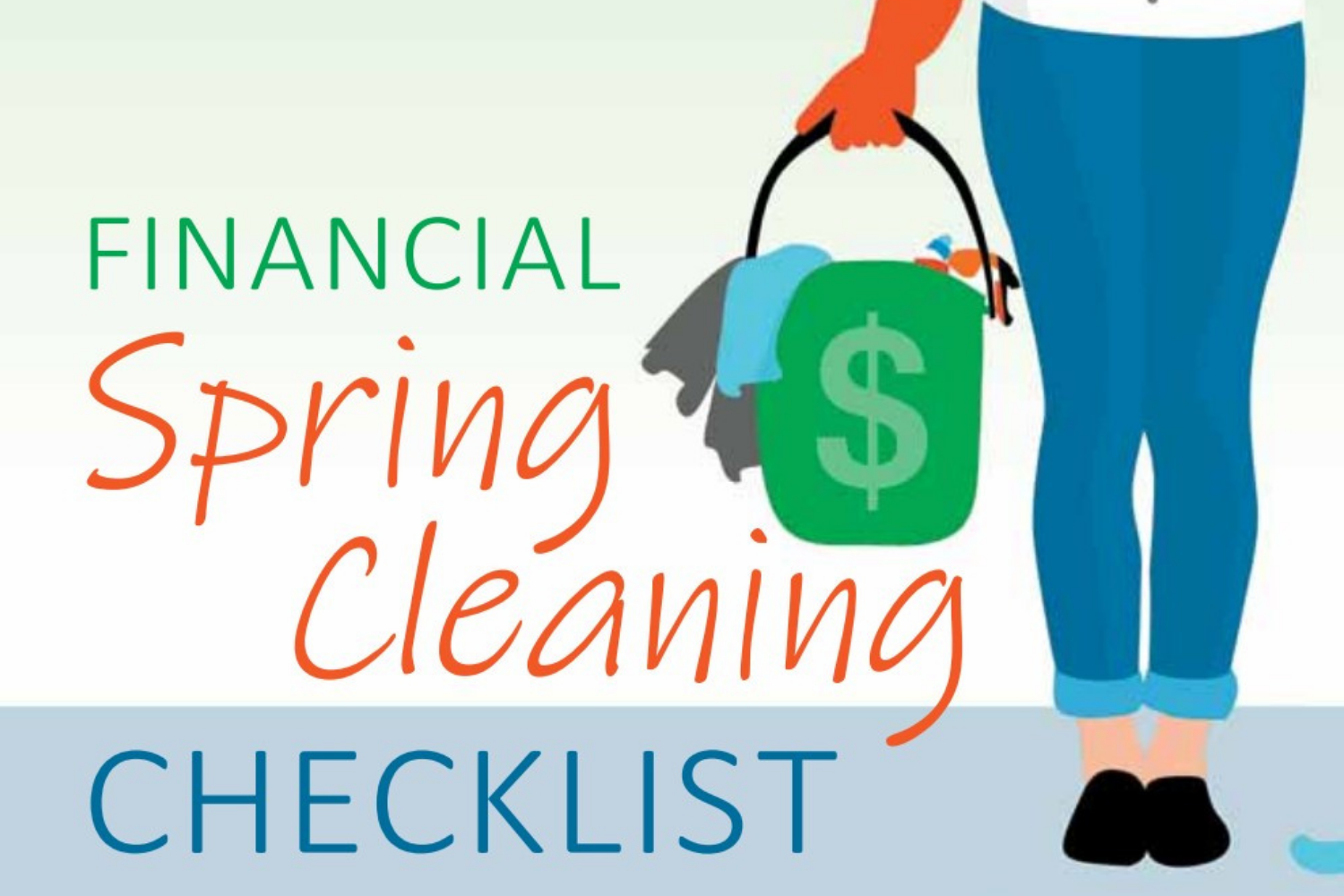 Financial Spring Cleaning Checklist Thumbnail