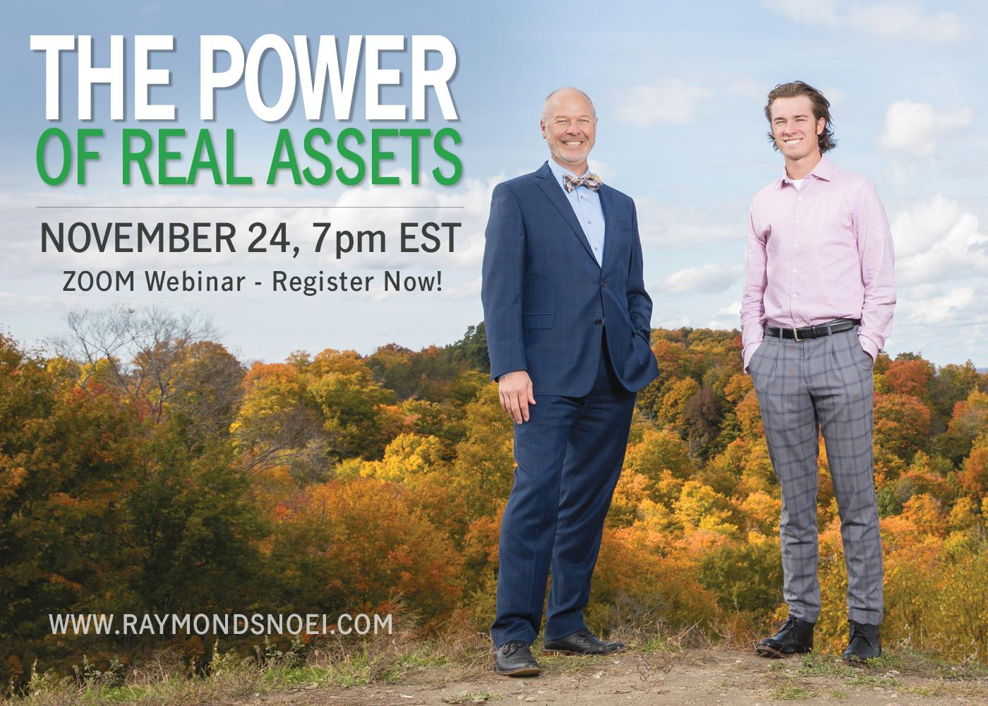 THE POWER OF REAL ASSETS - Expand your Investment Portfolio (webinar) Thumbnail