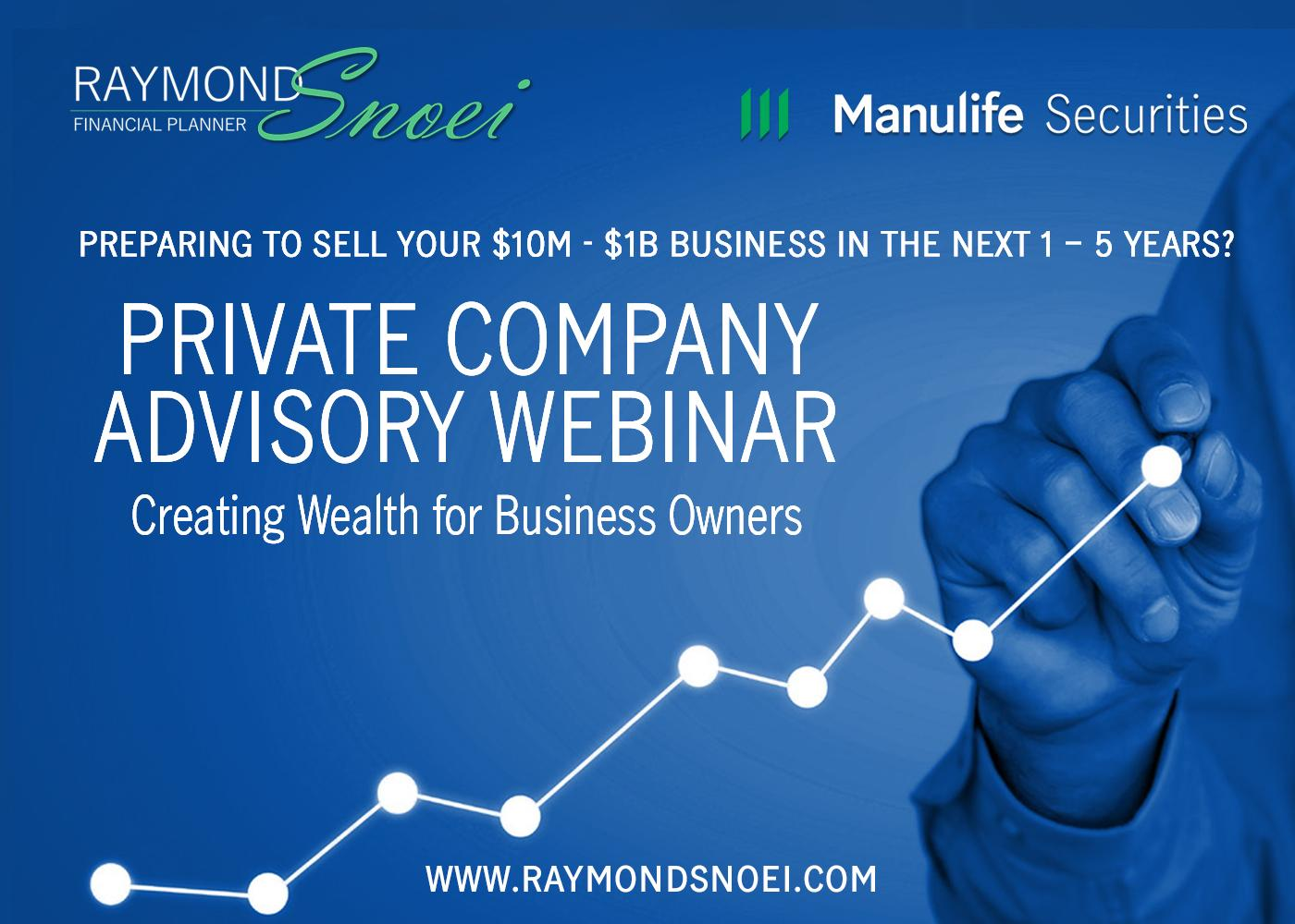 Creating Wealth for Business Owners (video) Thumbnail