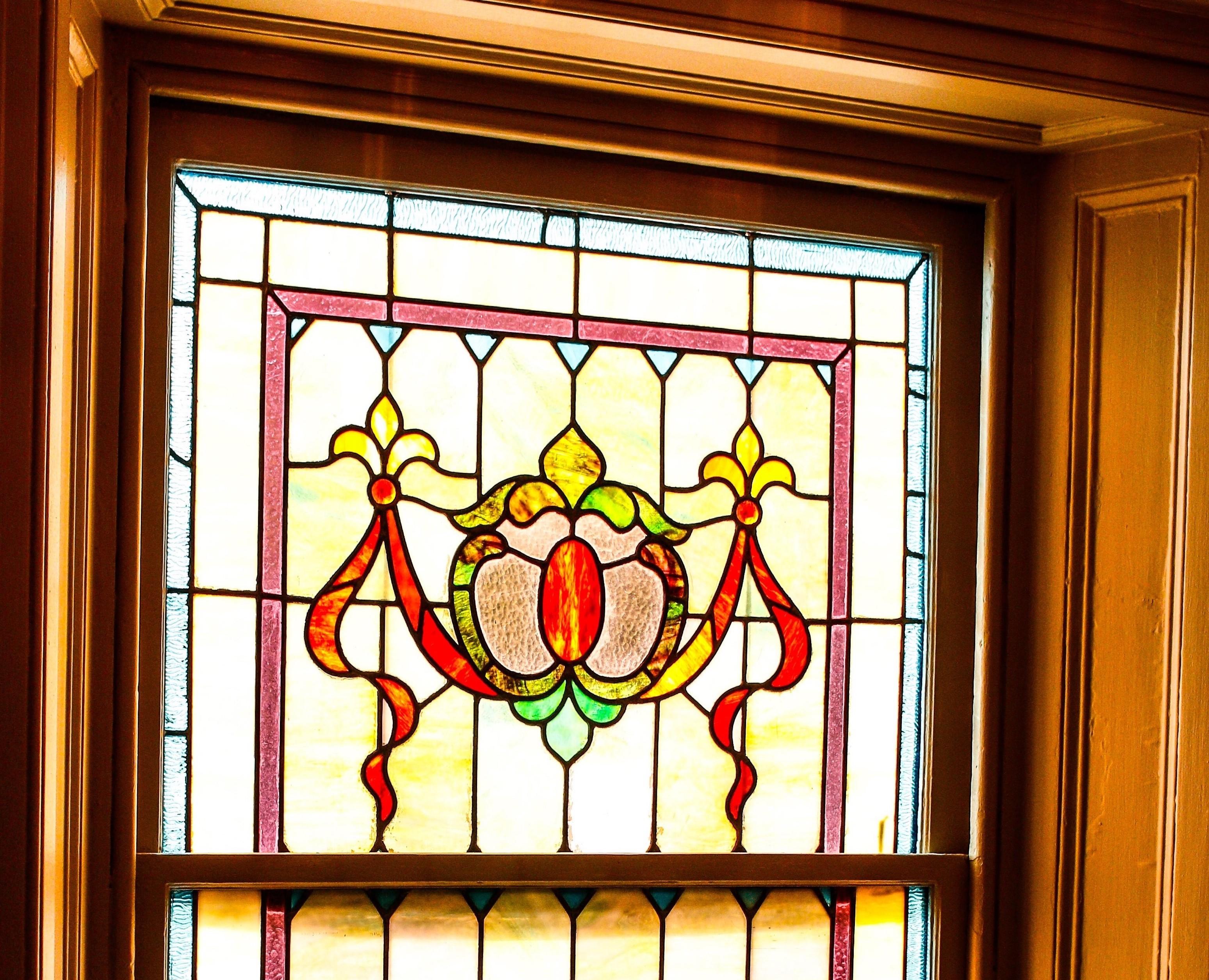 stained glass window photo Upper Gwynedd, PA MRK Wealth Advisors