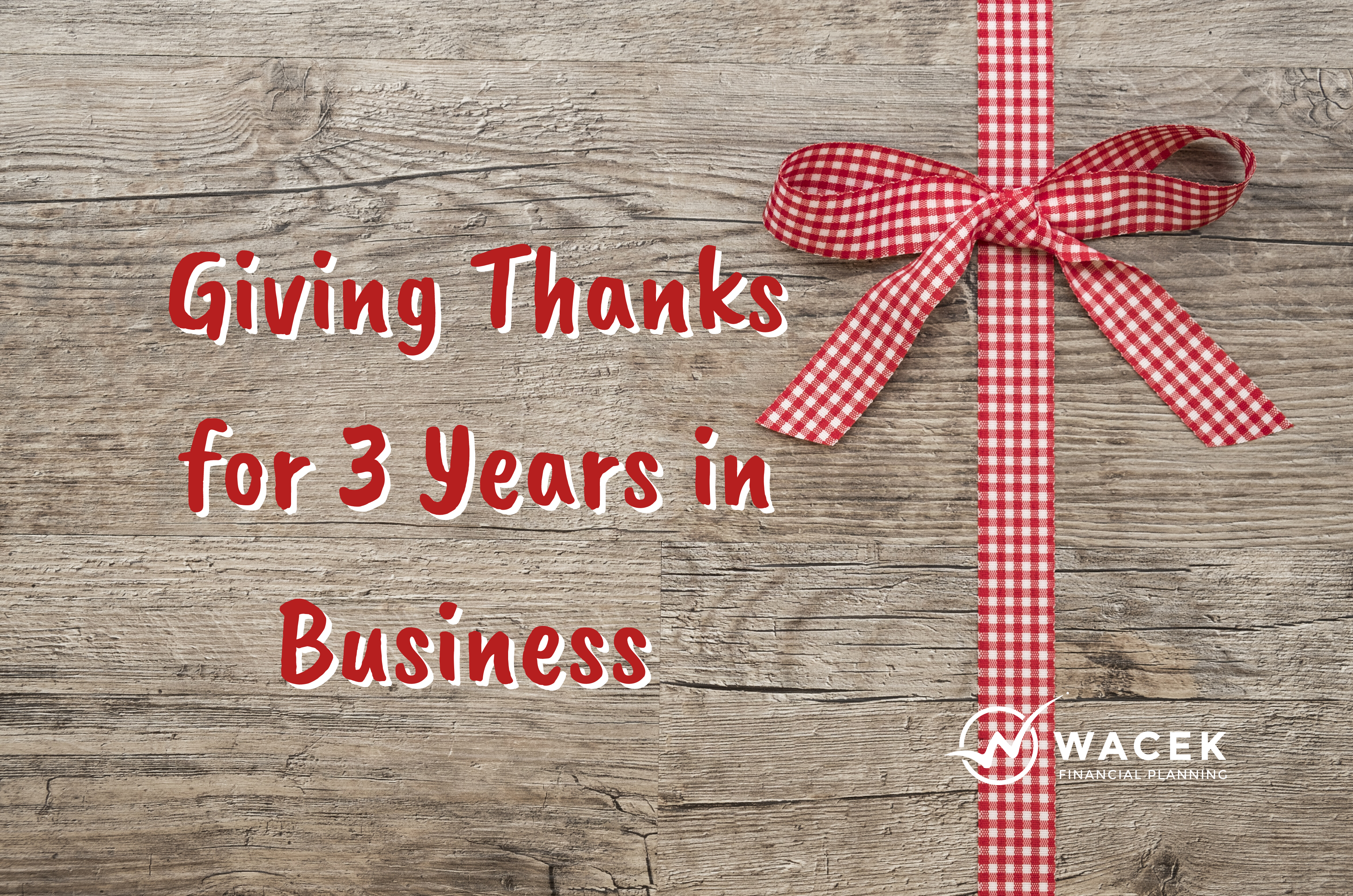 Giving Thanks For 3 Years In Business Thumbnail