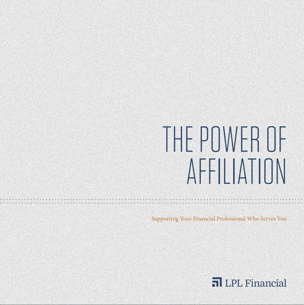LPL Financial Booklet Power of Affiliation