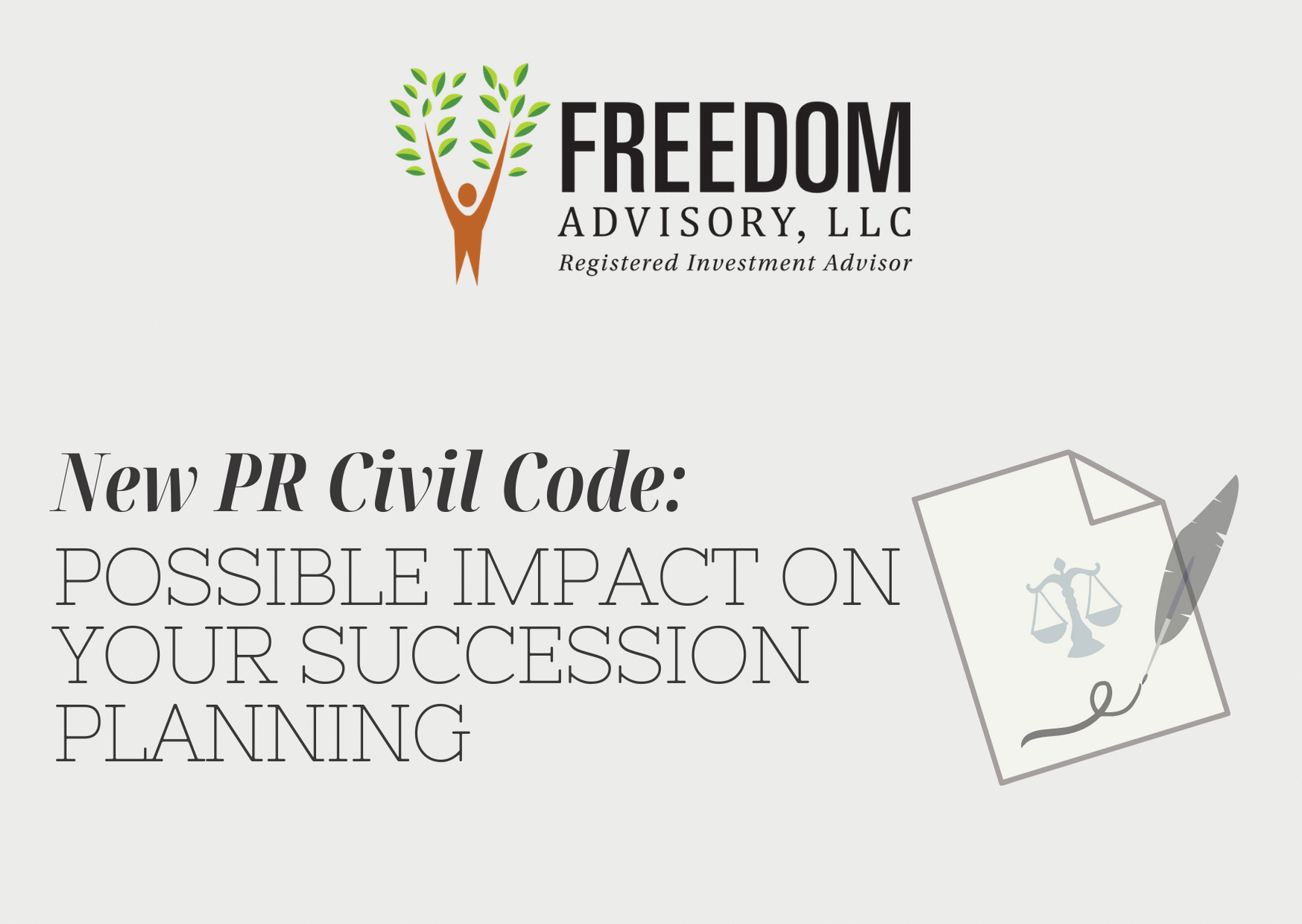New Civil Code: Implications to Succession Planning Thumbnail