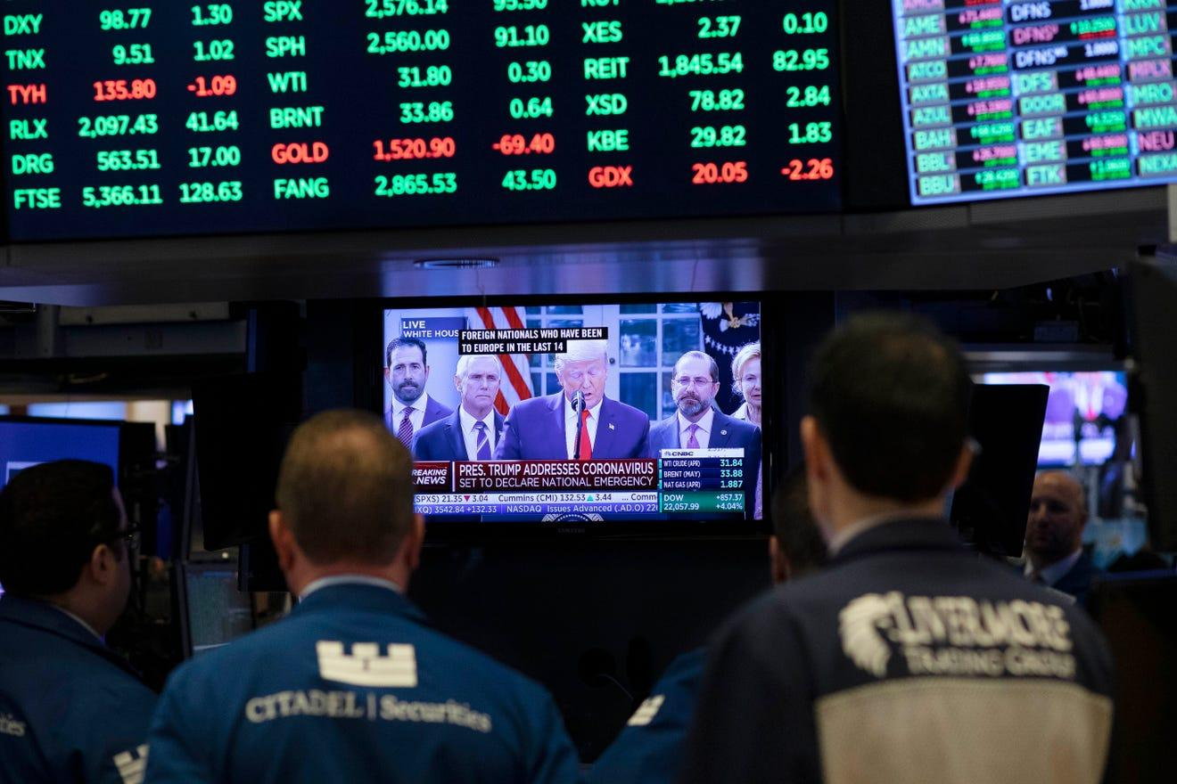 Stocks stabilize as investors brace for another volatile week Thumbnail