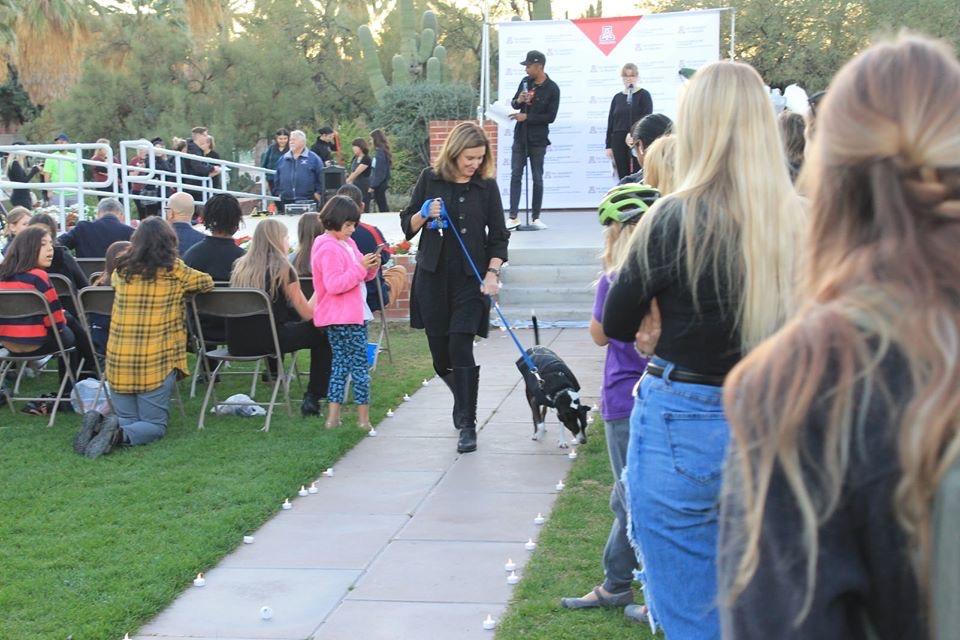 Angela at Dogs N' Denim