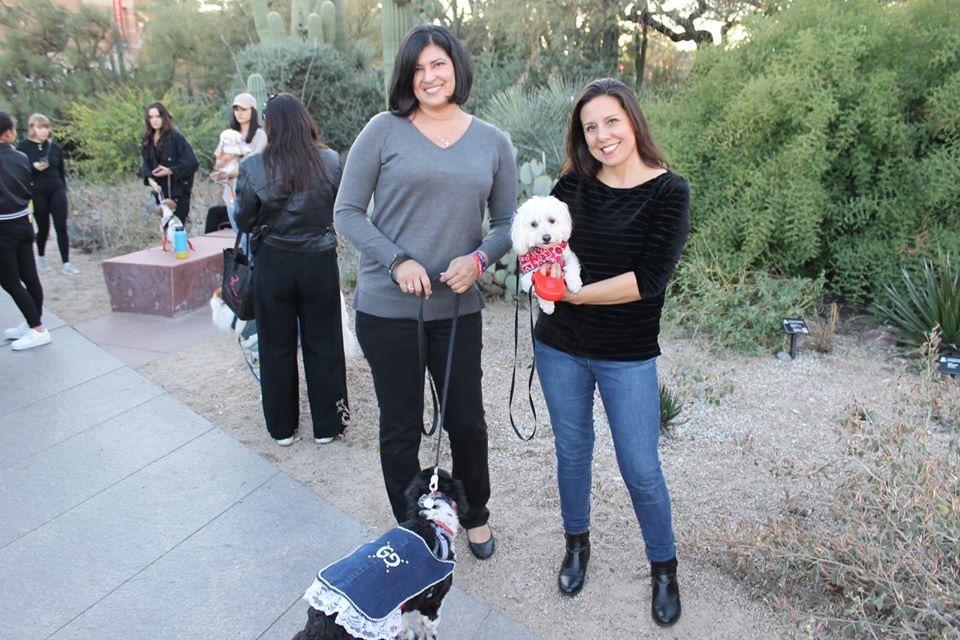 Angela at Dogs N' Denim Tucson, AZ Ascension College Planning