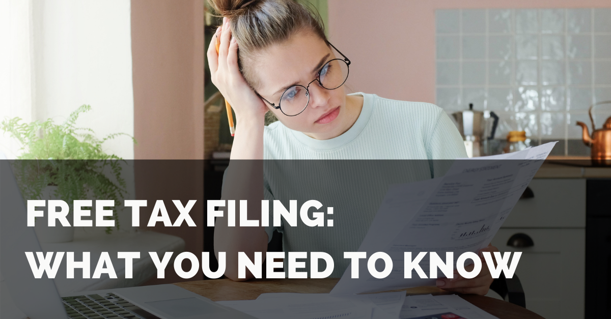 Free Tax Filing: What You Need to Know Thumbnail