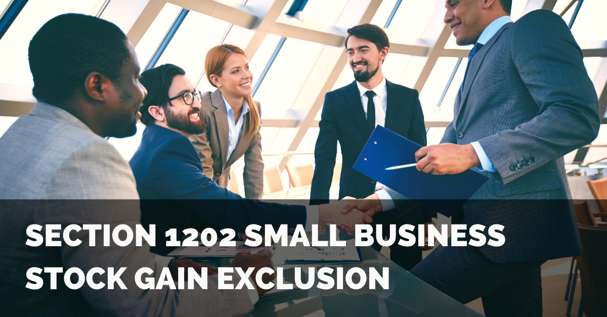 Section 1202 Small Business Stock Gain Exclusion Thumbnail