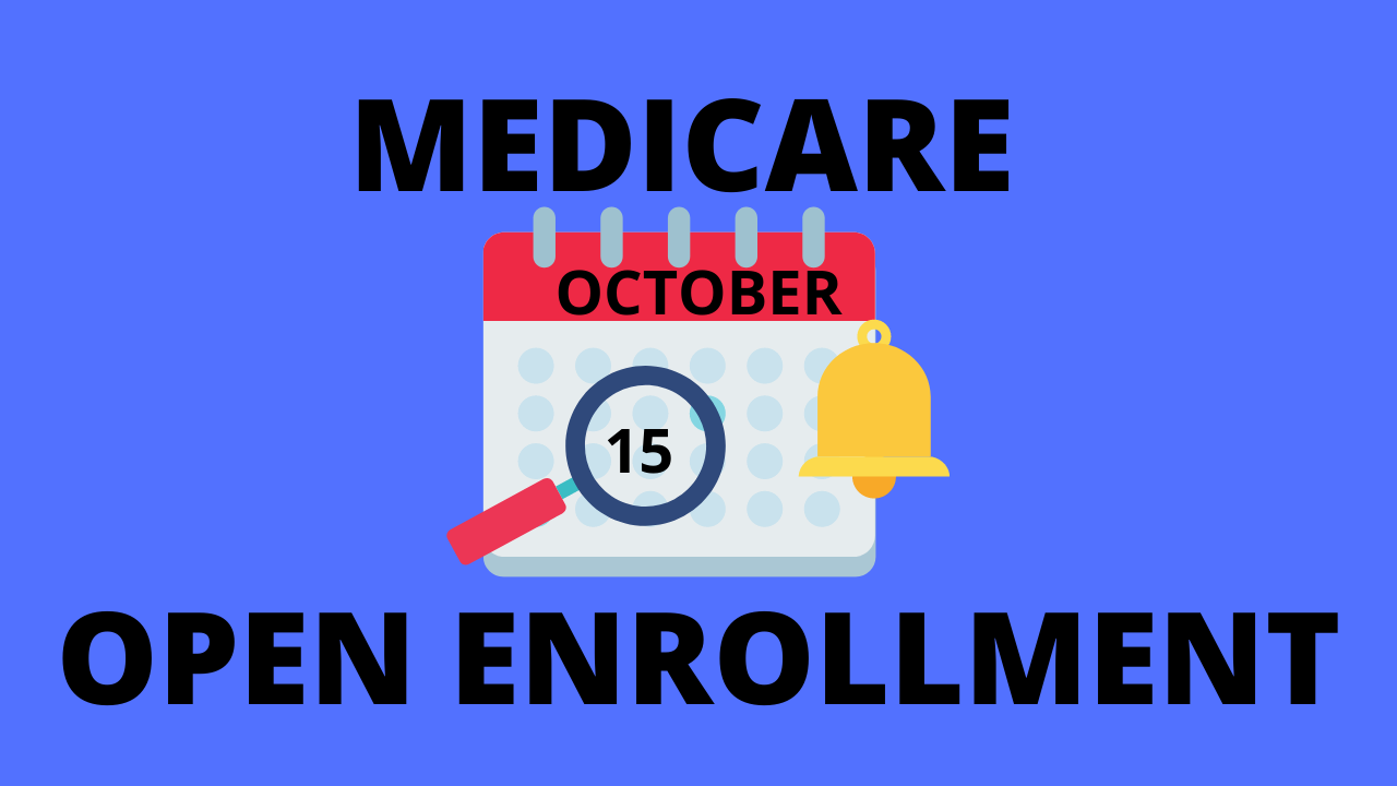 Medicare Open Enrollment Begins Oct. 15th. What Does That Mean For Me? Thumbnail