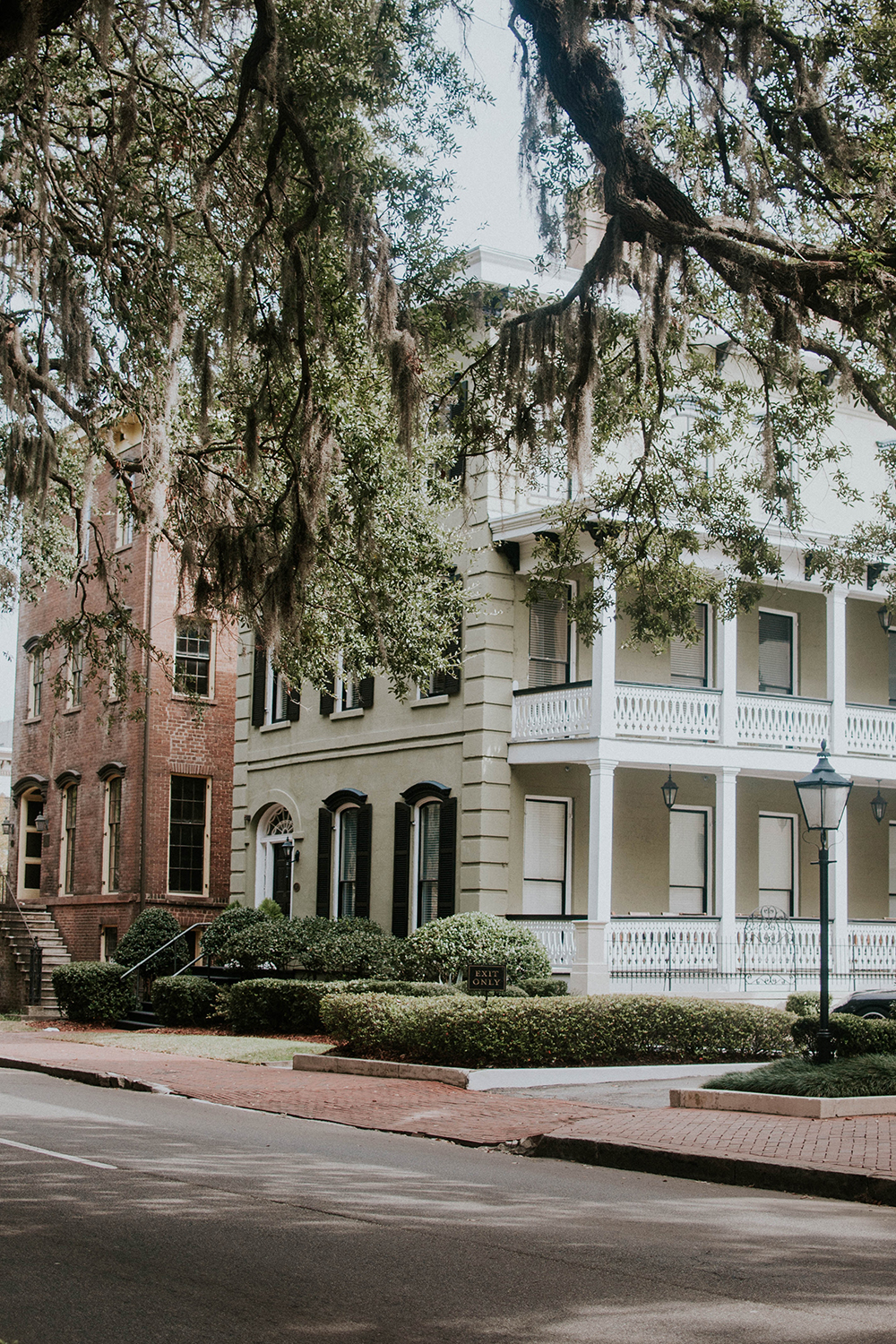House downtown Savannah, GA Barbara Treadwell, LLC