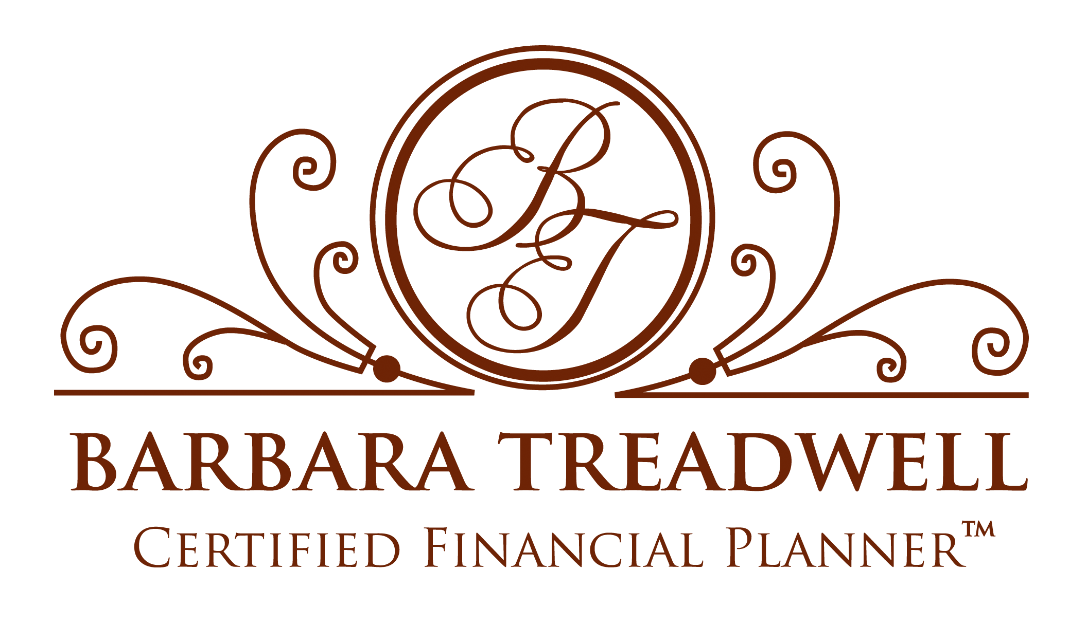 Logo for Barbara Treadwell CERTIFIED FINANCIAL PLANNER™