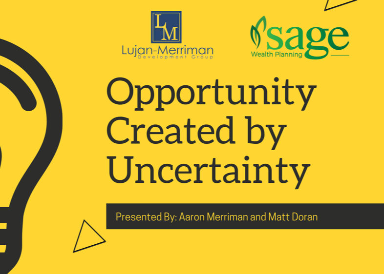 Opportunity created by uncertainty Thumbnail