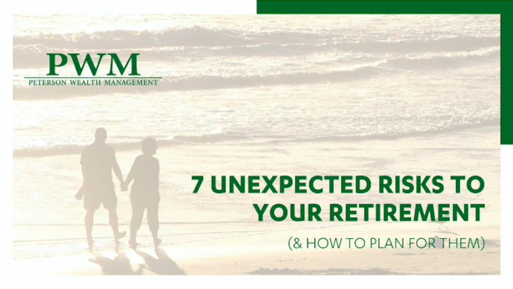 7 Unexpected Risks to Your Retirement (& How to Plan for Them) Webinar Thumbnail