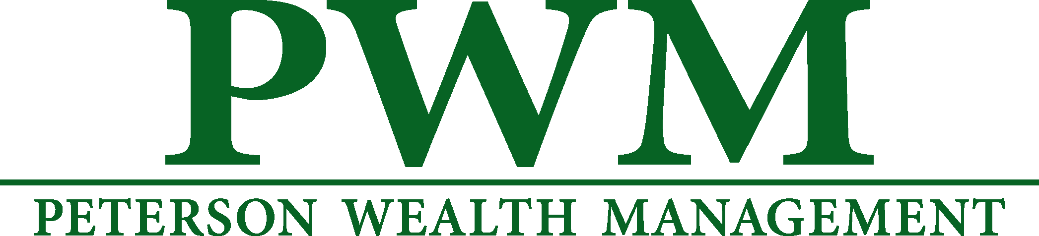 Logo for Peterson Wealth Management
