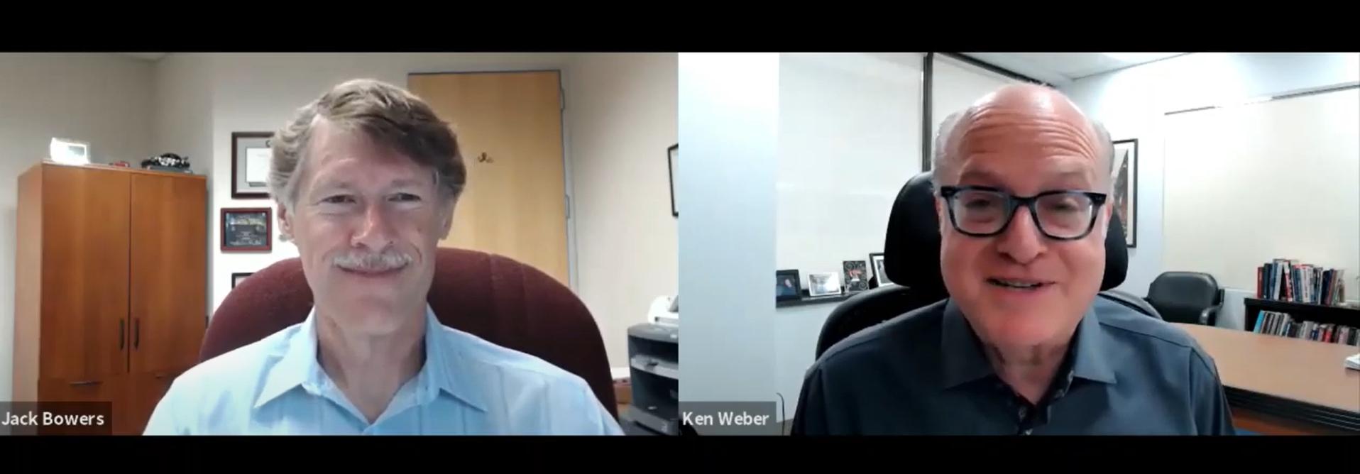 VIDEO: Ken Weber & Jack Bowers 8/3/21 Market Discussion Thumbnail