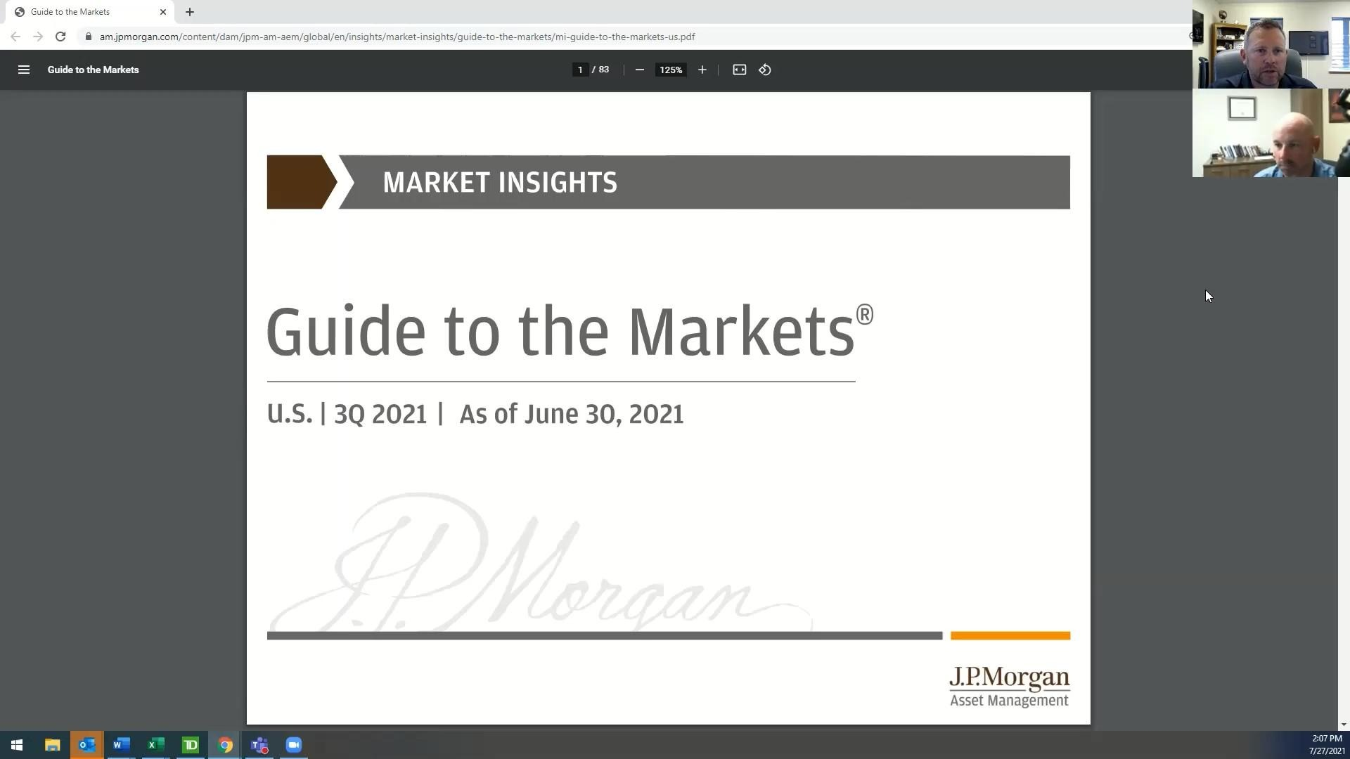 Video Discussion: June 30, 2021 Guide To The Markets Thumbnail