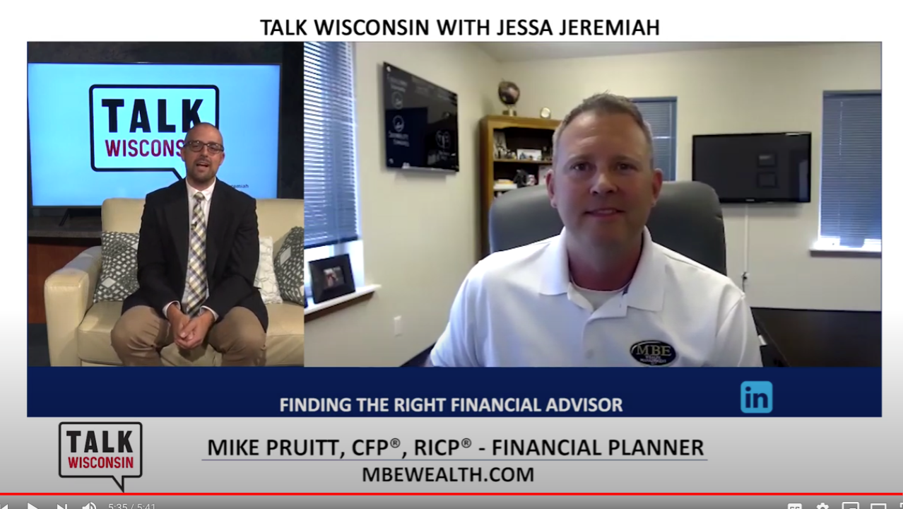 "MBE Wealth's Mike Pruitt featured on Channel3000/TVW's ""Talk Wisconsin"" Thumbnail"