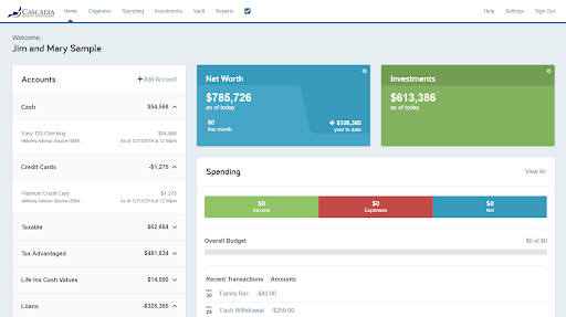 Account Access Portland, OR Cascadia Wealth Management