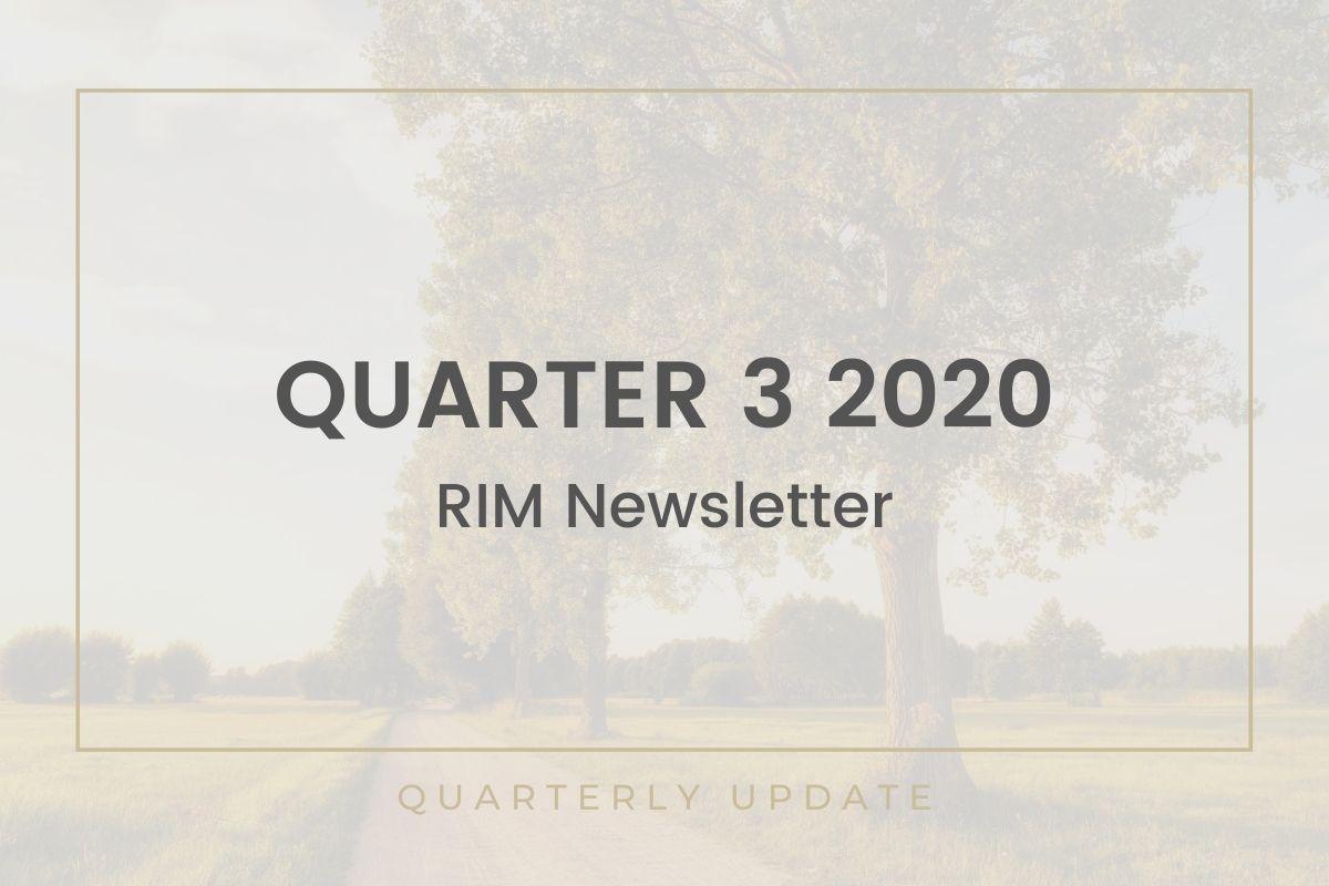 RIM 3Q 2020 Newsletter Thumbnail