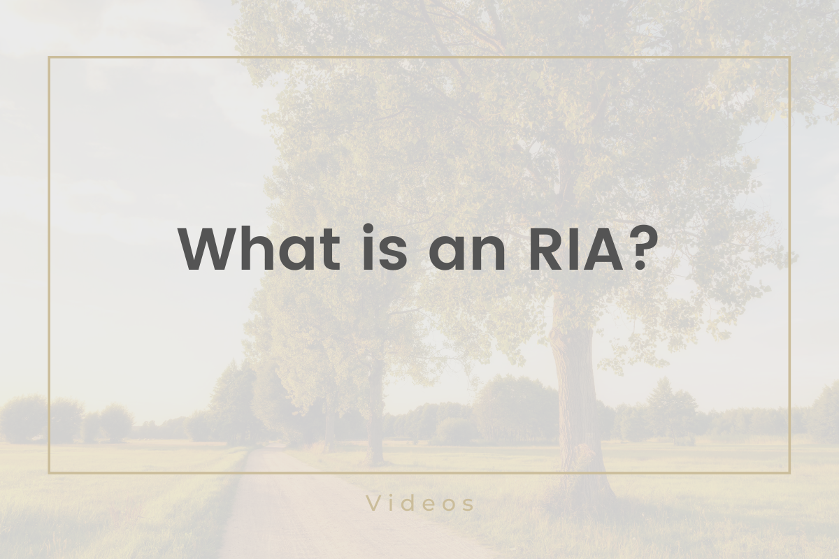 What is an RIA? Thumbnail