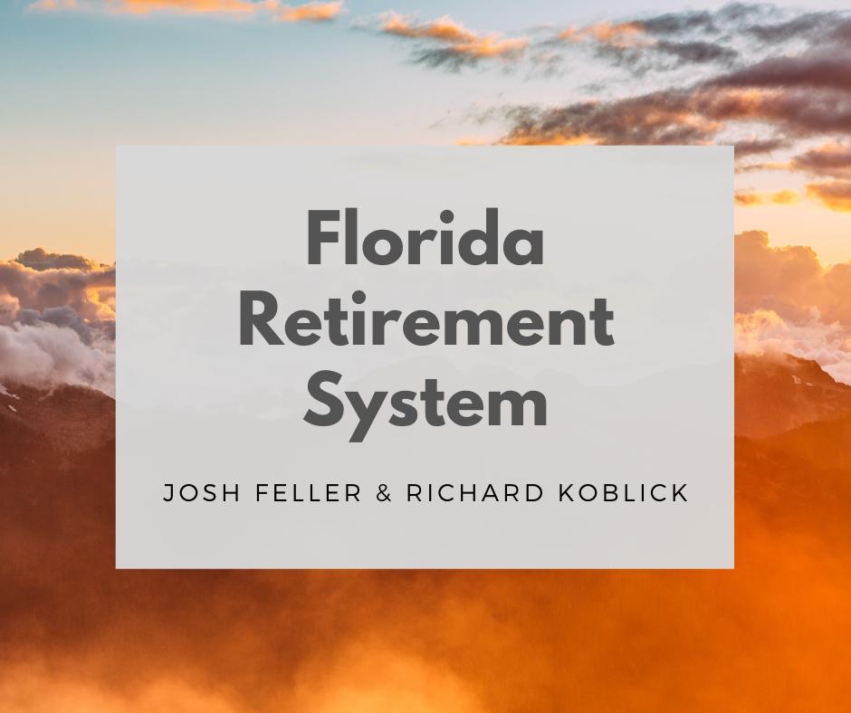 The Florida Retirement System Webinar Thumbnail