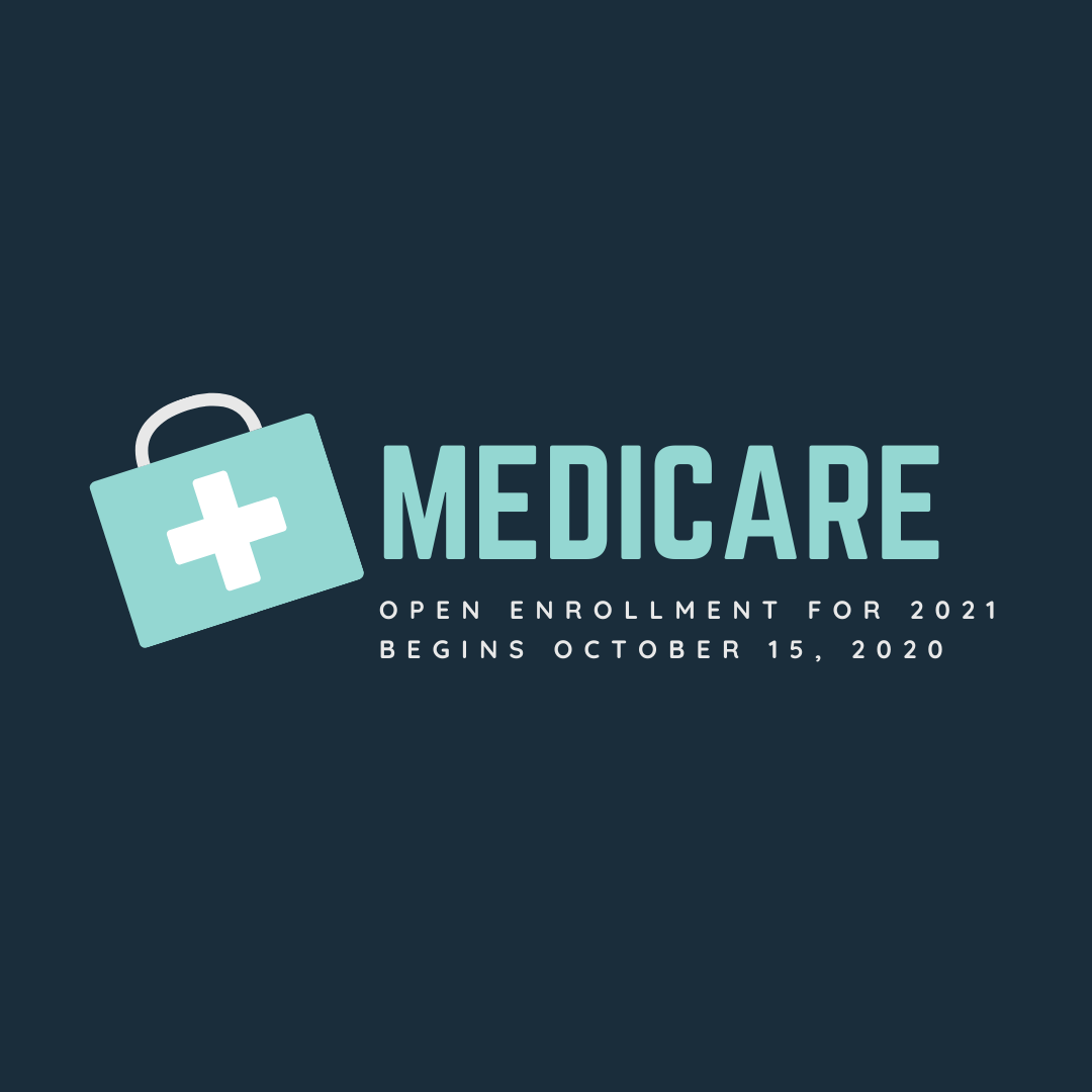 Medicare Open Enrollment for 2021 Begins October 15 Thumbnail