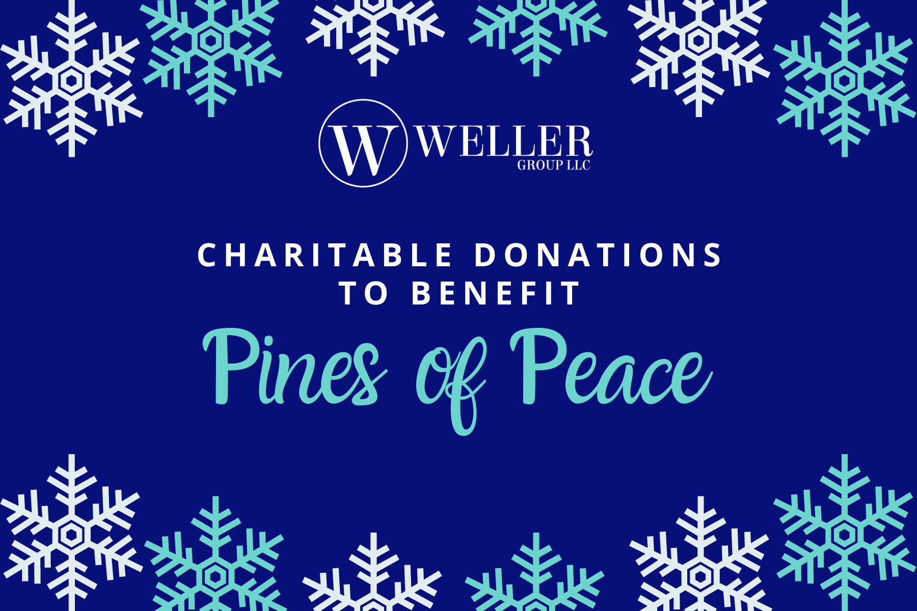 Charitable Donations to Pines of Peace Thumbnail
