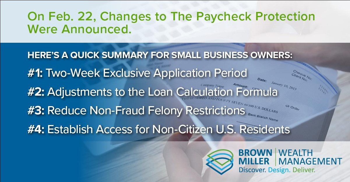 Summary of Biden's Latest Changes to The Paycheck Protection Program Thumbnail