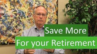 How to Save More in Your Retirement Account Thumbnail