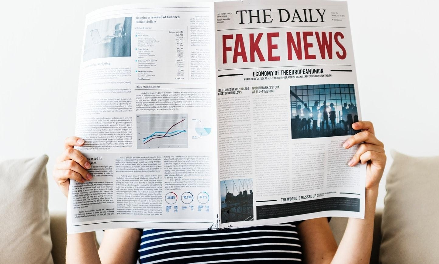 """Fake News"" Impacting Your Finances Thumbnail"