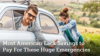 Most Americans Lack Savings to Pay For These Huge Emergencies Thumbnail