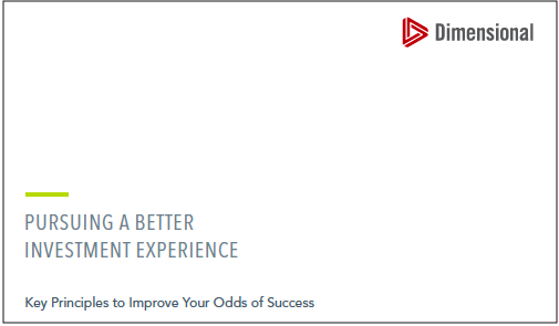 Dimensional's Key Principles to Improve Your Odds of Success