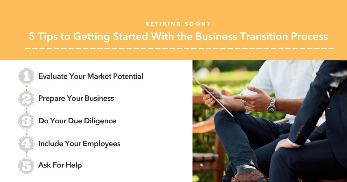 Retiring Soon? 5 Tips to Getting Started With the Business Transition Process Thumbnail