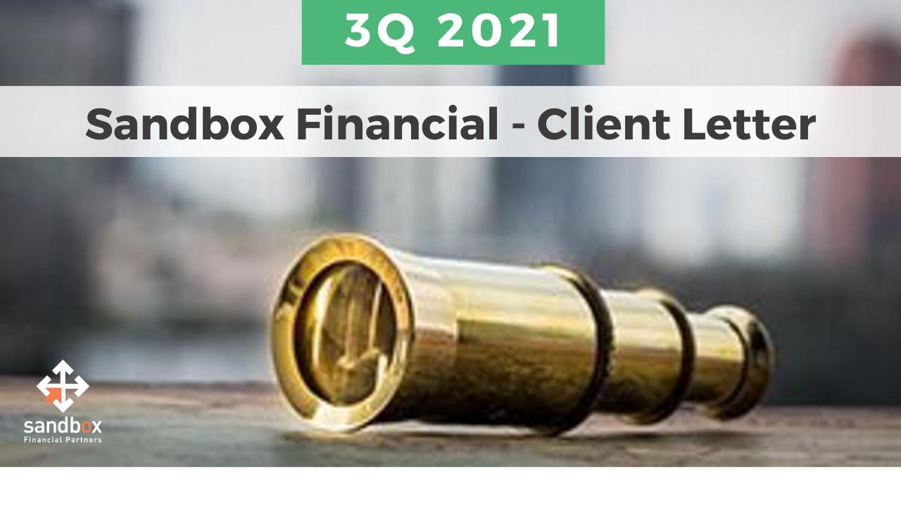 Sandbox Client Letter - 3Q 2021 Thumbnail