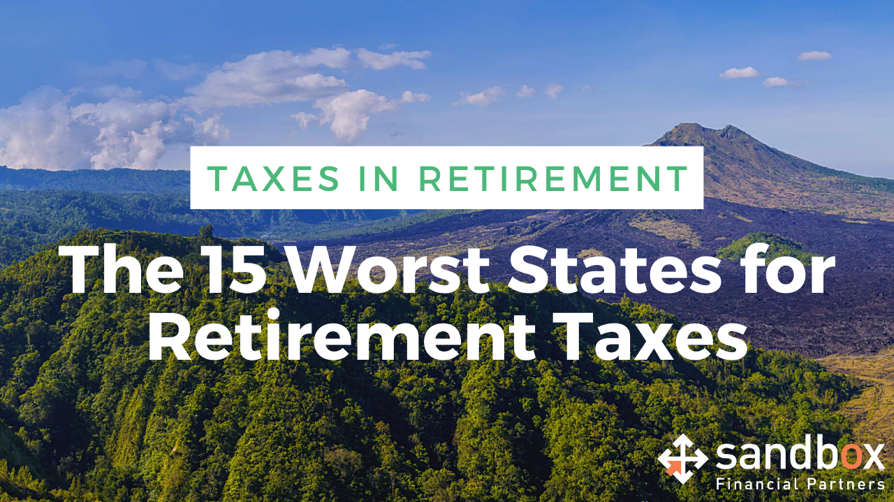 The 15 Worst States for Retirement Taxes Thumbnail