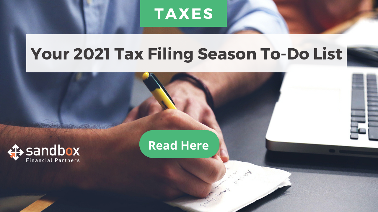 Your 2021 Tax Filing Season To-Do List Thumbnail
