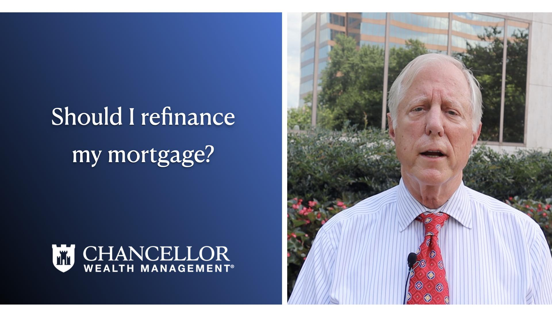 Should I refinance my mortgage? Thumbnail