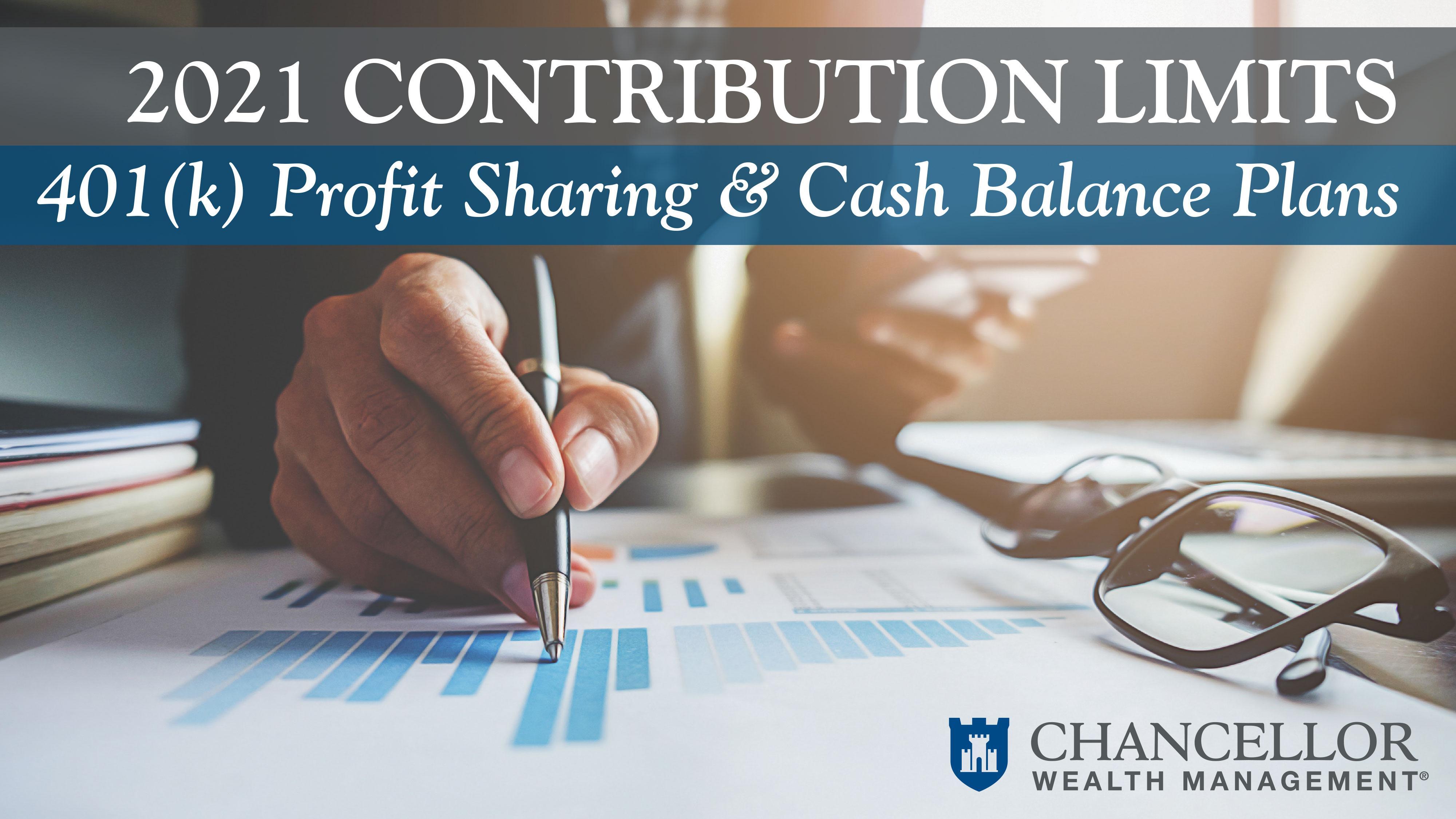 2021 Contribution Limits for 401(k) Profit Sharing & Cash Balance Plans Thumbnail