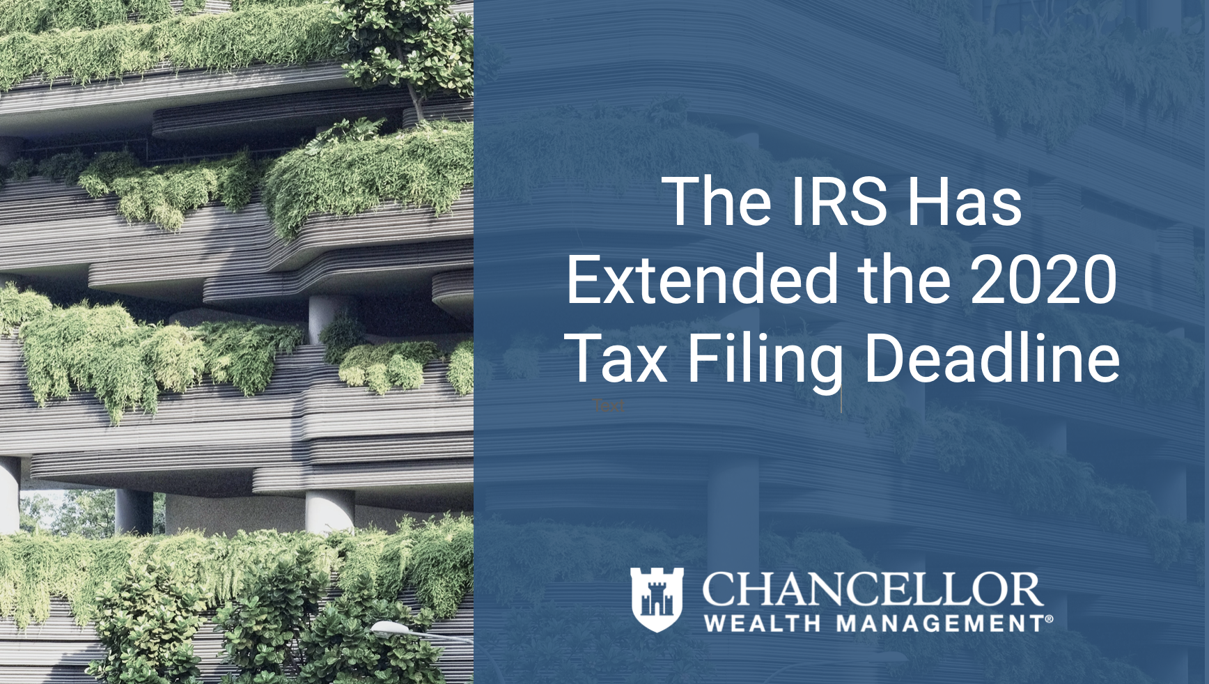 COVID-19 & Tax Season: The IRS Has Extended The 2021 Tax Filing Deadline Thumbnail