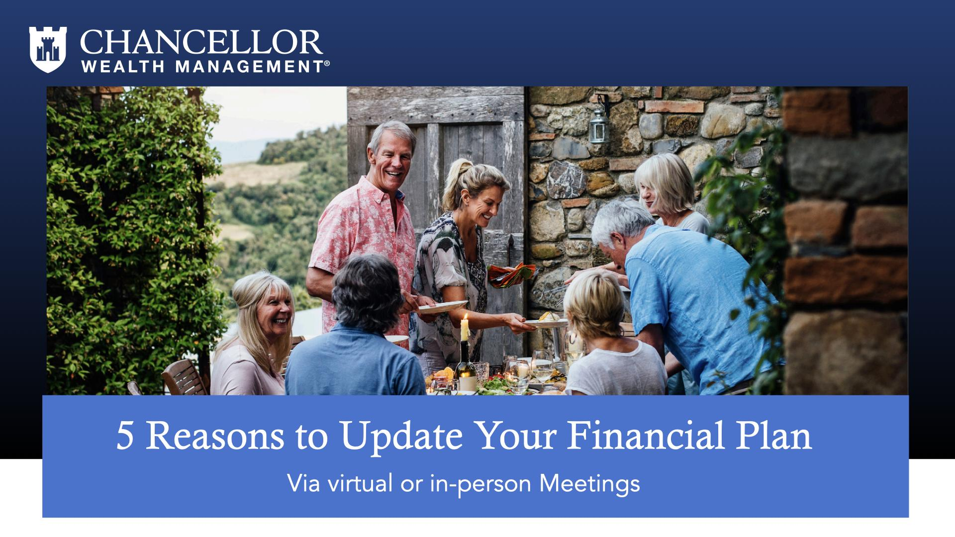 5 Reasons to Update Your Financial Plan Thumbnail