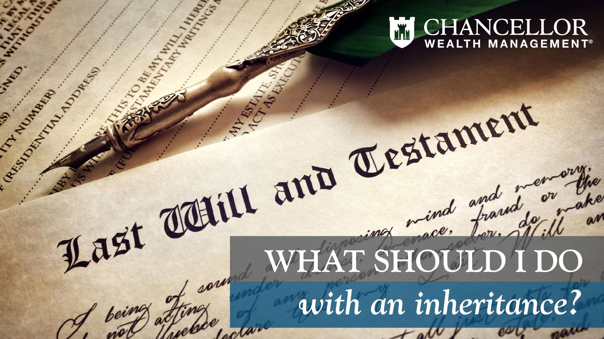 What Should You Do with an Inheritance?  Thumbnail