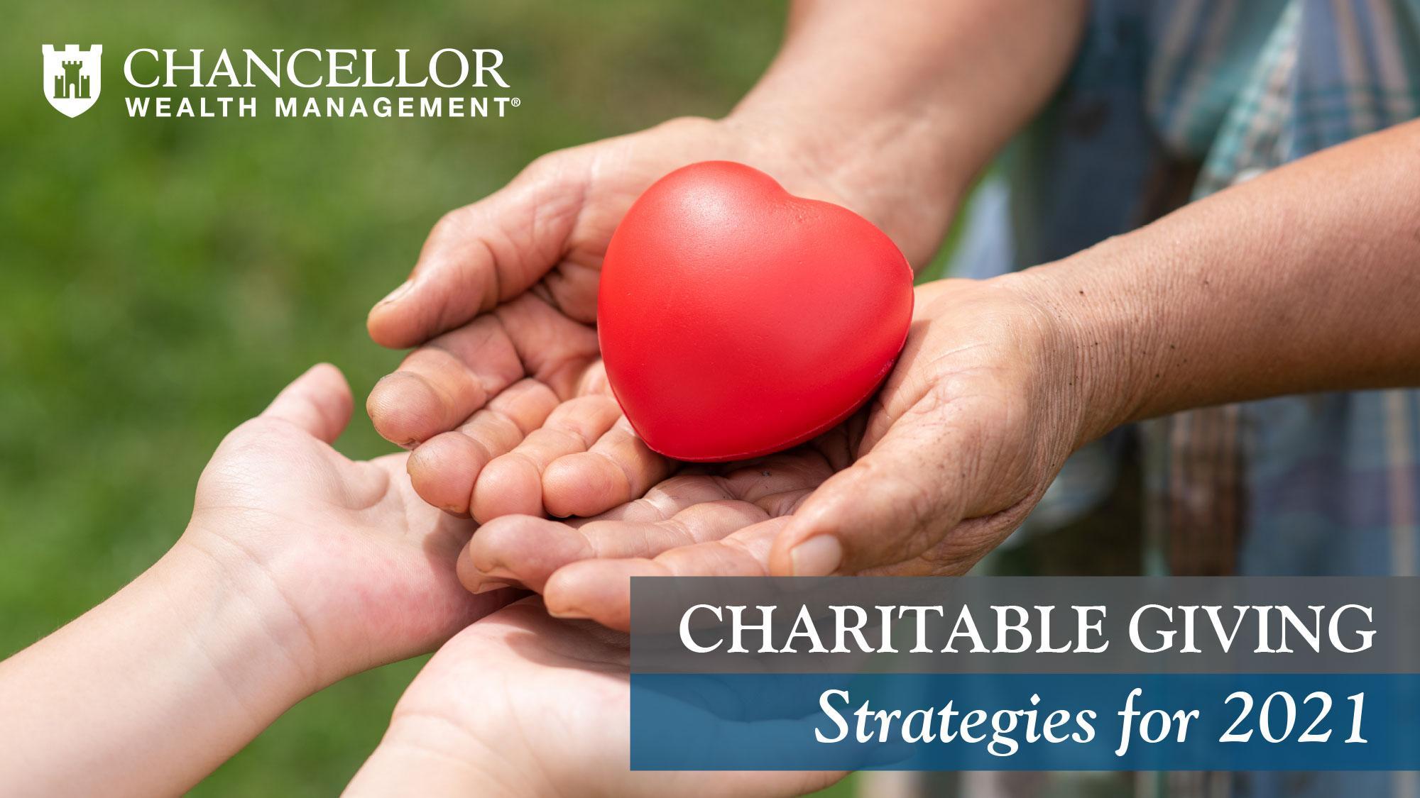 Charitable Giving Strategies for 2021 Thumbnail