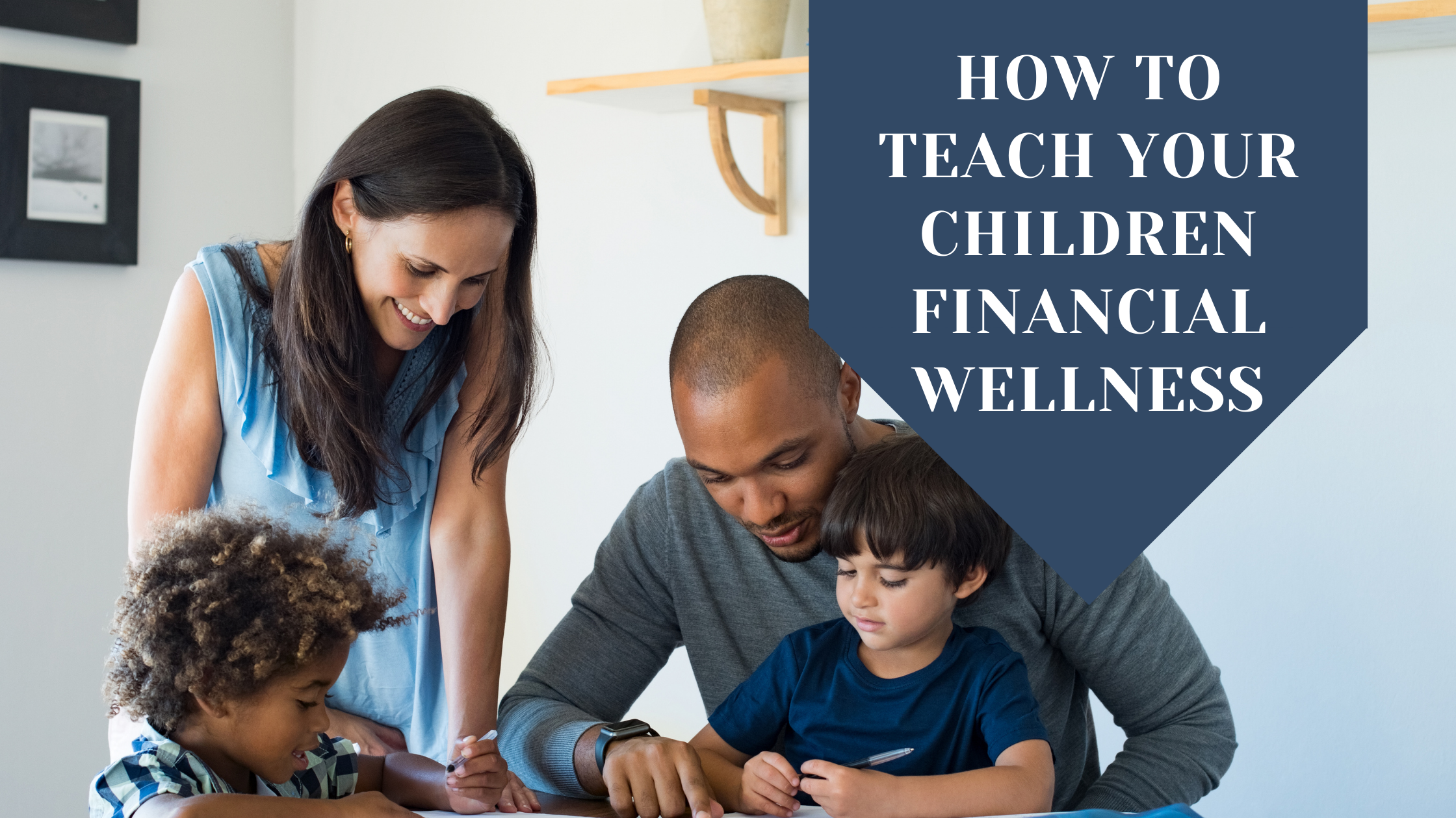 How to Teach Your Children Financial Wellness Thumbnail