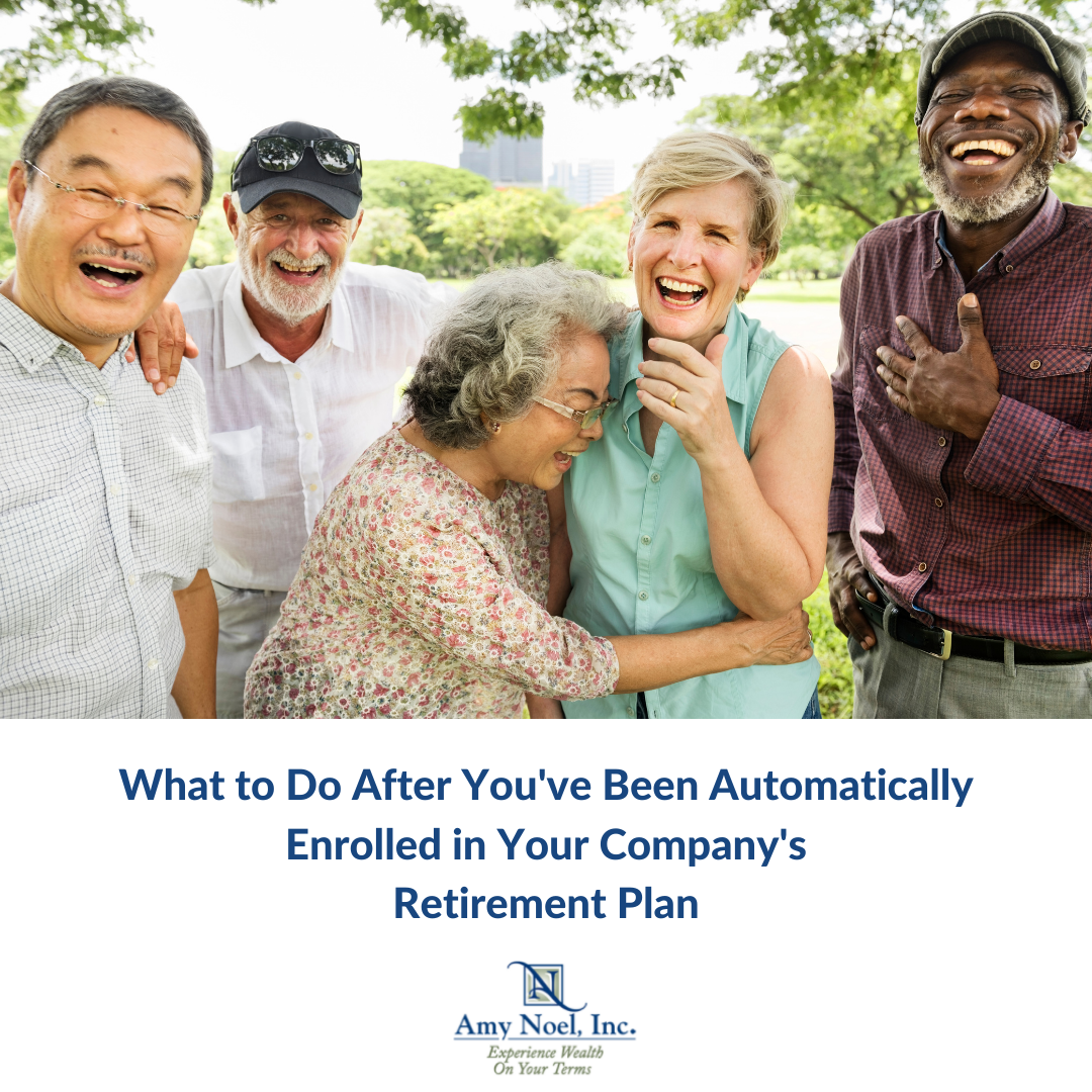 What to Do After You've Been Automatically Enrolled in Your Company's Retirement Plan Thumbnail