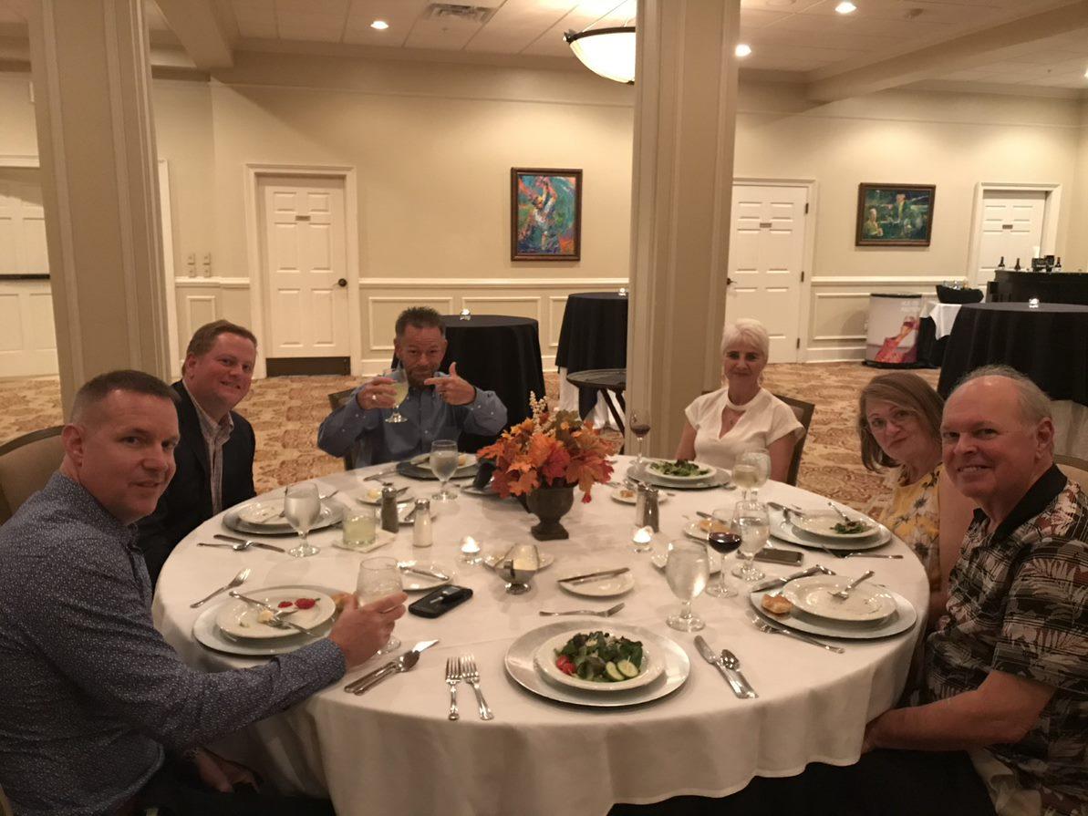Augusta Client Appreciation Event Cincinnati, OH Oxford Financial Partners