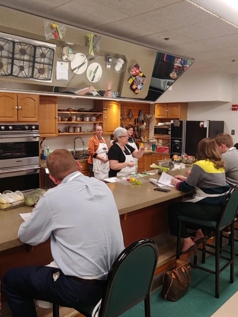 Private Cooking Class Event Cincinnati, OH Oxford Financial Partners